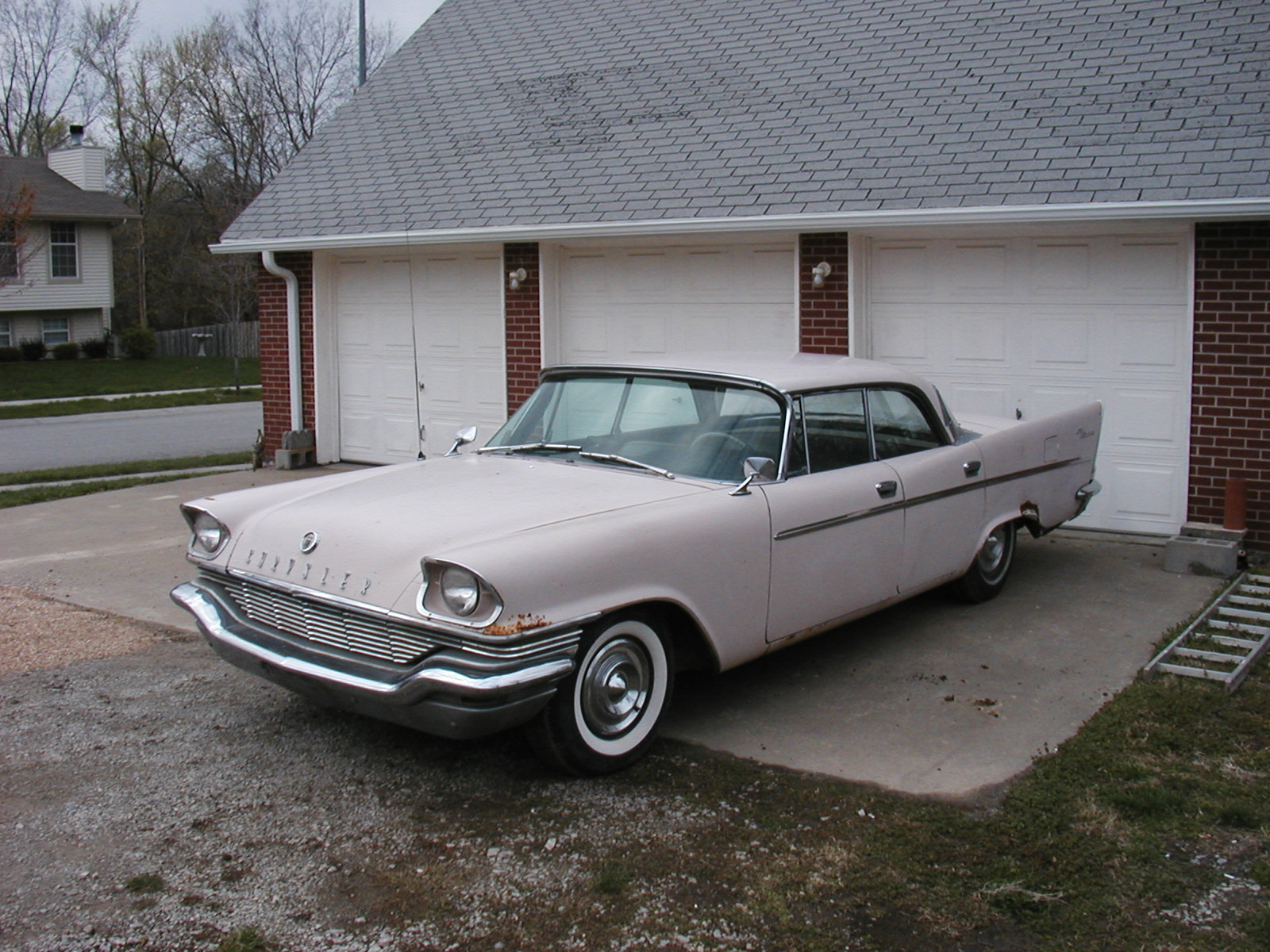 1957 Chrysler Windsor Left Side