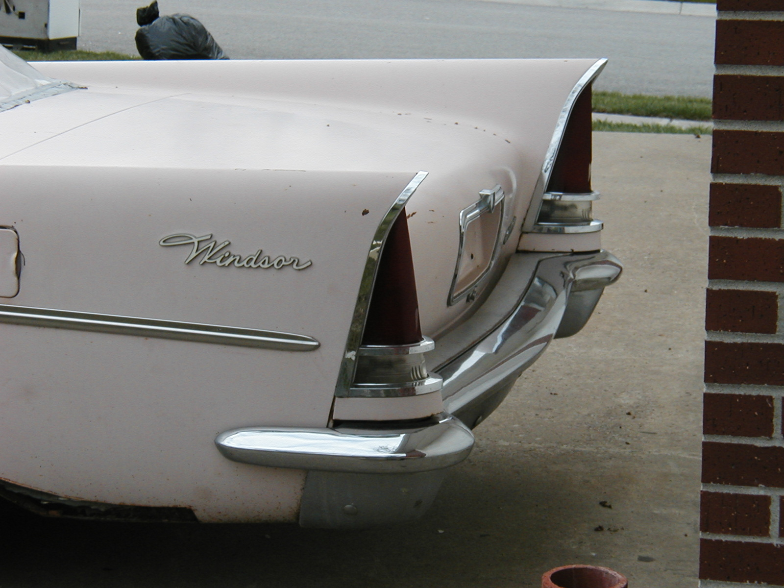 1957 Chrysler Windsor Tail