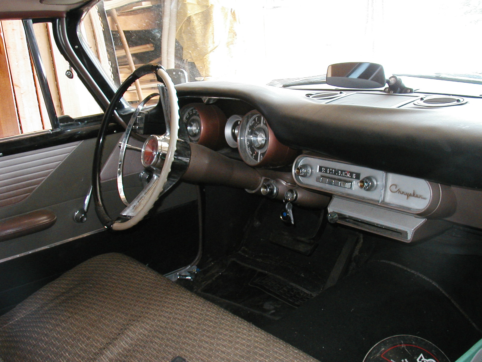 1957 Chrysler Windsor Dash
