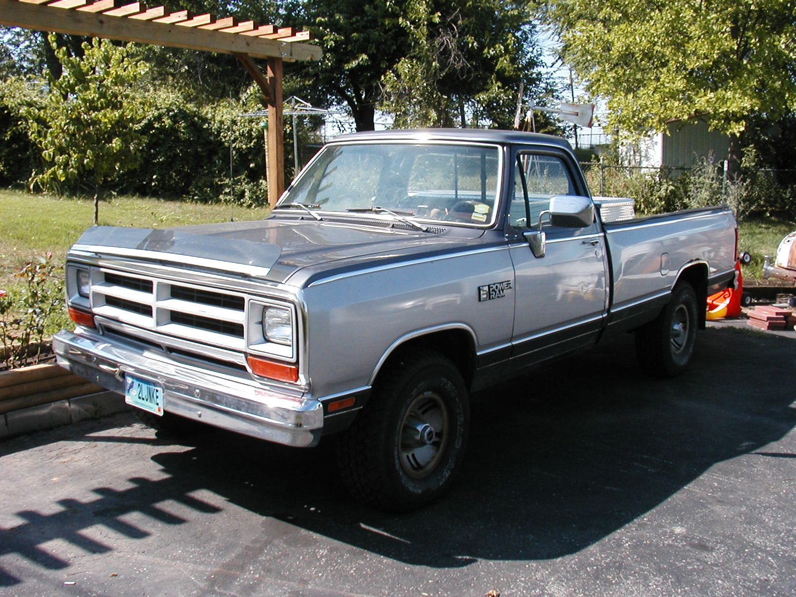 1989 Dodge W150 Power Wagon