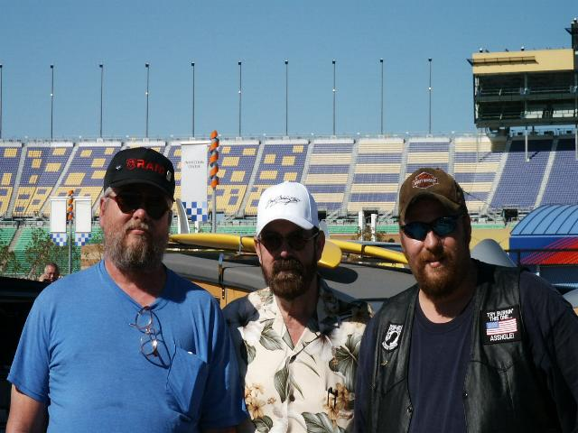 Pic of me , my son and Boyd Coddington